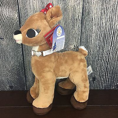 Build A Bear Stuffed Rudolph the Red Nosed Reindeer CLARICE Plush With Tags