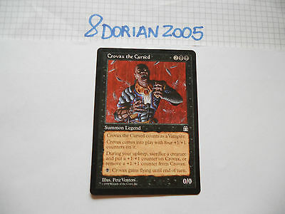 1x MTG Crovax il Maledetto-The Cursed Magic EDH ING Inglese STG Fortezza Legacy