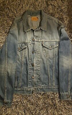 vintage levis  denim jacket size xl