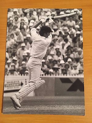 1982 Greg Chappell in Australia Ashes v England Ken Kelly Press Press Photograph