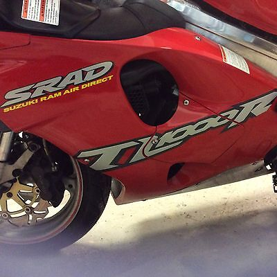 tl1000r fairing panel red left side