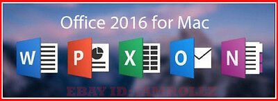 Office 2016 for Mac - Home and Business - 3 Users