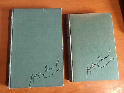 2 x Godfrey Evans books 1951 behind the stumps & 1956 action in cricket 1st edtn
