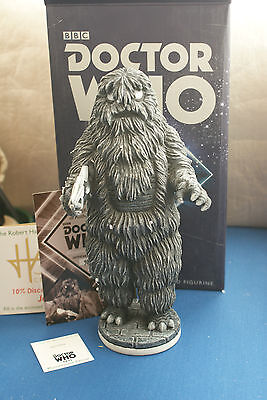 Yeti Dr Who Monochrome Edition Who12M 100 Limited Robert Harrop Mib