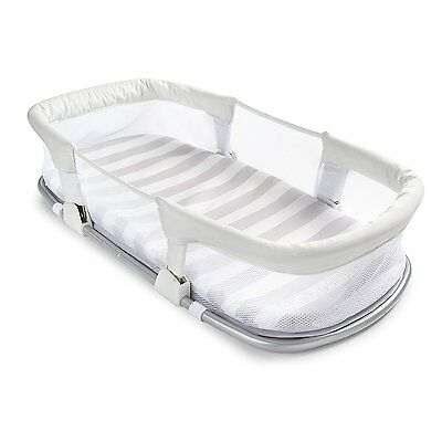 SwaddleMe By Your Side Sleeper Vacation Portable Travel Baby Infant Crib Bed