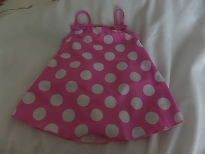 Baby Girls Swimming Costume 6-9 Months 68 - 74 Cm With Built In Nappy From Tu