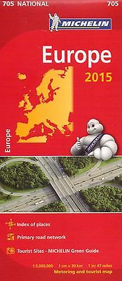 Europe Map Michelin 705 X 10 - New - Wholesale Lot