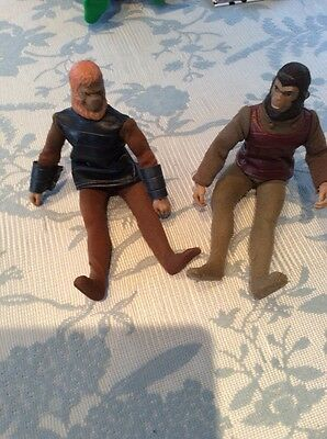 vintage planet of the apes figures used