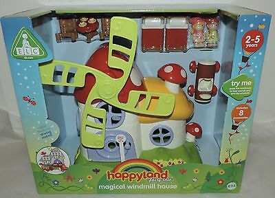 NEW ELC Happyland MAGICAL WINDMILL HOUSE (2-5 YRS) w/Sounds & Spinning Windmill