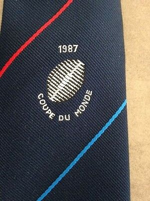 Cravate Collection Rugby Coupe Du Monde 1987