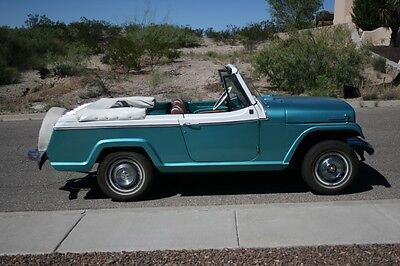 1968 Jeep Commando 2 dr convertible   A classic 1968 Kaiser Jeepster Commando, V6, automatic, 4wd, convertible.