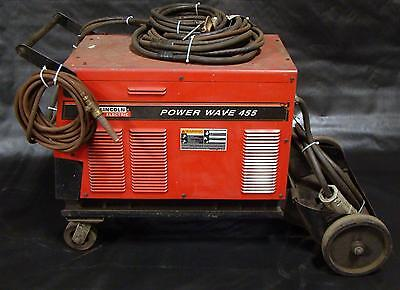 Lincoln Power Wave 455 Multi Process MIG TIG Stick Welder Code 10872