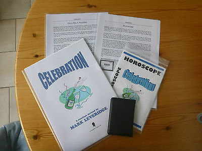 Mark Leveridge 'Celebration' CD, lecture notes & Horoscope trick