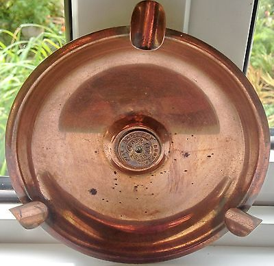 Rhodesia Vintage Copper Tray 1947 One Penny Southern Rhodesia Centre Collectable
