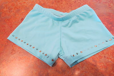 Turquoise dance bottoms, missing stones, size 4/6