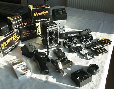 MAMIYA C330 PROFESSIONAL F & Accessories/Accessoires