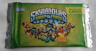 Skylanders Swap Force Trading Cards Booster Pack (new sealed, Topps, Activision)