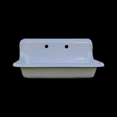 Reproduction Single Bowl Farmhouse Drainboard Sink - Model #SB3018