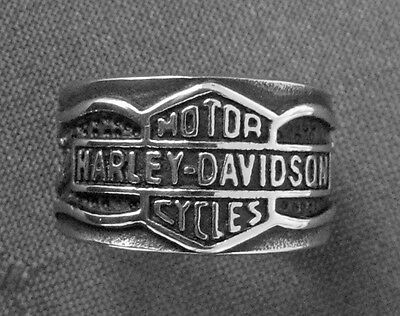 Famous Biker Ring - Stainless Steel -   Usa Size 12 = Aus Size X½