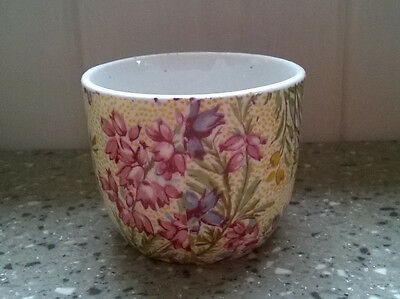 Vintage Chintz Egg Cup with floral design in good condition