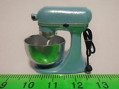 1:12 Scale Non Working  Food Mixer Dolls House Miniature Kitchen Accessory( LB)