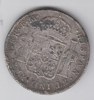 MEXICO 8 Reales 1796 forgery, not silver (L766)