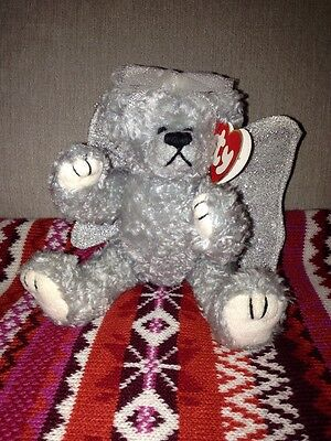 TY Attic Treasures- Sterling bear - Rare And Retired With Tags