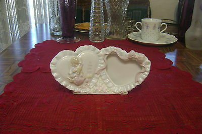 1993 Precious Moments Enesco To Thee With Love Double Heart Picture Frame Love