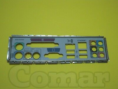 Ecs/compaq Rc410-M 1.0 Sr1705 Mascherina Posteriore Back Panel I/o Shield