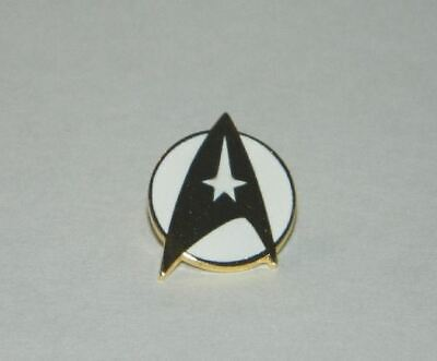 Star Trek: The Motion Picture Movie Command Logo Cloisonne Metal Pin, NEW UNUSED