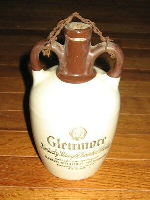 Vintage  Glenmore Antique Kentucky Straight Whiskey Jug Bottle Pottery Stoneware