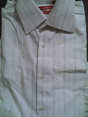 Chemise blenche manches longues MARCOSERUSSI