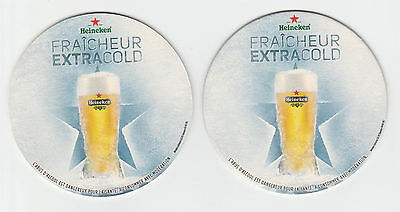 ★ HEINEKEN ★  collection prestige 2012  #3 Sous bock coaster deckel