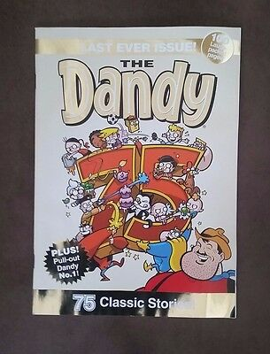 THE DANDY LAST EVER ISSUE No.3610 BRAND NEW / MINT