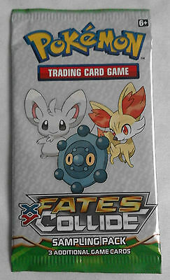 Pokemon Trading Card Game XY Fates Collide Sampling Pack (booster, new sealed)