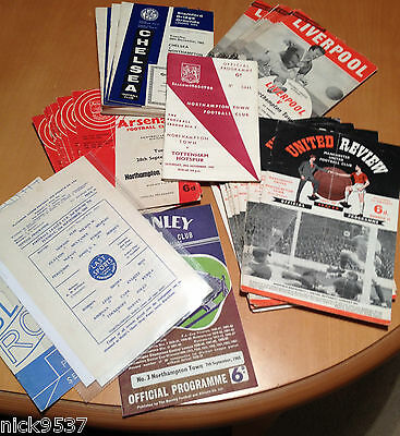 Northampton Town Only 1St Division Season | Set Of 41 Programmes | All Listed