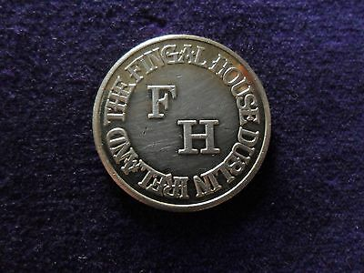 The Fingal House Dublin = One Free Drinks Token