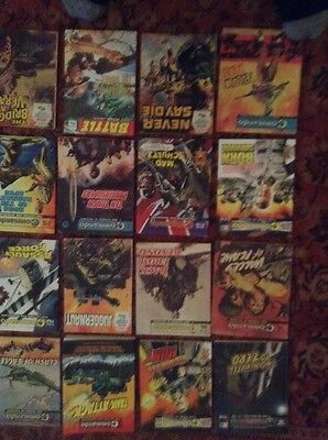 18 commando war comics Lot H