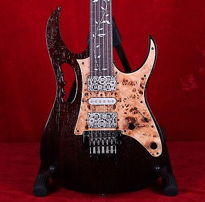 Ibanez Steve Vai JEM Woody JEM77WDP Electric Guitar With Case Brown