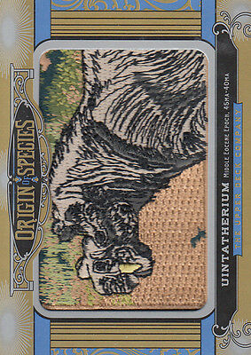 2016 Upper Deck Goodwin Champions Origin of Species #OS210 Uintatherium