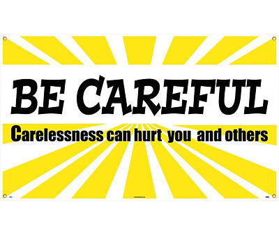 NMC BT520 MOTIVATIONAL AND SAFETY BANNER 3ft x 5ft