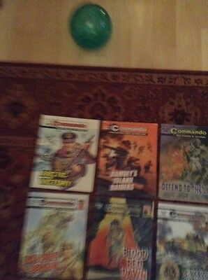 16 commando war comics Lot I