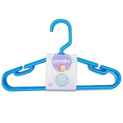 Babies R Us Blue 10 Pack Hangers - NEW