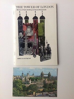 Original Tower Of London Official Guide 1969 Collectors Information Booklet