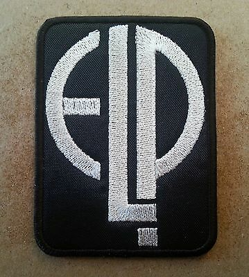 ELP Embroidered patch Emerson Lake and Palmer