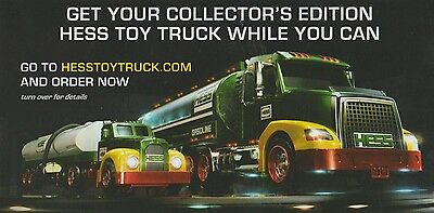 2014 50th Anniversary Collector's Edition HESS Toy Truck/Tanker Limited Numbered
