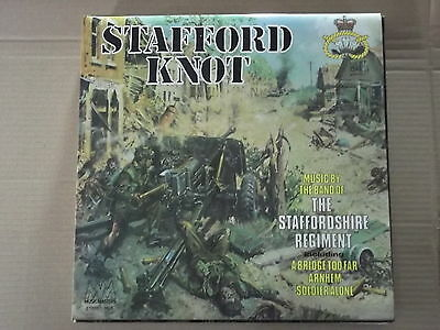 Band Of The Staffordshire Regiment - Stafford Knot Lp