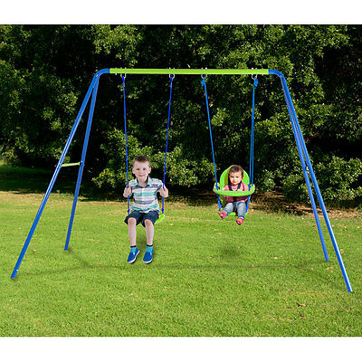 Action 2 Unit Swingset with Bonus Seat - NEW