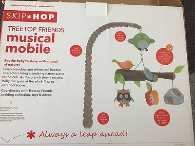 Skip Hop Treetop Friends Musical Mobile