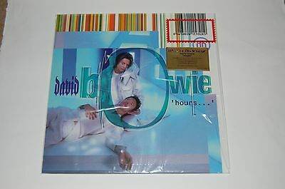 David Bowie : Hours : BlueVinyl Album: Numbered Limited Edition Mint Condition.